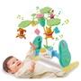 日本🇯🇵18年 最新款 Takara Tomy 旋轉 音樂鈴 6way 嬰兒床 健力架 小熊 維尼 床鈴 多美