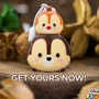 Chip and Dale chipmunk ezlink charm