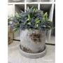 ☆Tuscany garden☆ZAKKA 仿舊陶土花盆 水泥盆  陶瓷花器 花盆 裝飾 佈置品 擺飾品