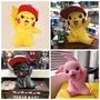 【QW手辦世界】寵物小精靈 波克比 皮卡丘 1:1模型 戴帽子皮卡丘 超大公仔 手辦