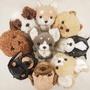 [現貨+預購]。米拉諾雜貨屋。Sunlemon PUPS!超可愛毛茸茸系列狗狗玩偶-S尺寸