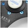 汽車改裝方向盤烤藍螺絲 個性方向盤ND VERTEX OMP MOMO通用螺絲