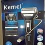 三種頭的充電式電動刮鬍刀