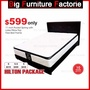 BFF-Kingsbed-Hilton Pocket Spring with Latex Pillowtop Mattress Package