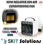 Mini Negative Ion Air Conoditioning Fan Condition Aircon Cooler Cooling Portable Easy to Use