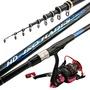 4號磯釣竿碳素超硬超輕長節磯桿5.4米手海兩用磯釣桿海竿釣魚竿
