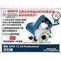 【台北 益昌】德國 BOSCH 博世 GDM 13-34 切石機 切斷機 圓鋸機