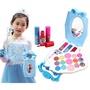 兒童安全無毒化妝品玩具套裝 公主口紅眼影彩妝組 化妝車化妝箱化妝包化妝盒女孩扮家家酒