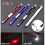 【winshop】A3318 紅外線手電筒觸控筆/LED燈/雷射筆/指星筆/led/螢光棒/戶外登山/開會簡報用品