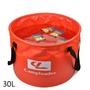 marcos野營戶外折疊水桶汽車車載車用洗車水桶伸縮戶外釣魚大號水桶30L