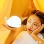 免運~感應燈創意可愛海豚燈小夜燈鯨魚拍拍燈變色觸拍充電臥室床頭燈女生禮物 新品