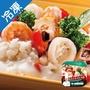 金品鮮蔬乳酪海鮮燉飯 300G/盒【愛買冷凍】