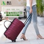Korean version of the trolley bag trolley men and women waterproof laptop trolley bag large capacity