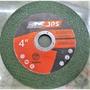 金光興修繕屋~**JPS**公司號稱比 鱷魚牌 耐切 4吋切斷砂輪片 白鐵砂輪片 不鏽鋼 紅標綠色雙網