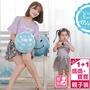 【93119】側開式哺乳衣‧孕婦裝‧優質純色‧荷葉袖親子裝‧二色