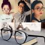 明星款復古眼鏡框 黑框男鏡框 潮流女明星款全框眼鏡架 文藝斯文平光鏡