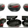 【馬克莊 】 K-MAX K-22 50公升 機車行李箱(有LED燈/無燈) /漢堡 /置物箱 台製  免運