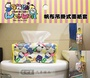 權世界@汽車用品 Hello Kitty 三麗鷗人物圖案 帆布面紙盒套(可吊掛車內頭枕) KT-A-1357-3