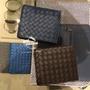 AnDi代購BV 皮夾 BOTTEGA VENETA 經典編織款八卡短夾 男夾 皮夾❤棕色 深藍 大象灰