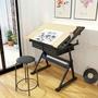 【預購】美式可升降繪圖桌設計師工作台桌子
