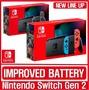 【Nintendo】任天堂 Switch 2代 灰/紅藍主機(電池加強版)