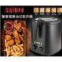 【聲寶 SAMPO】3公升健康油切上蓋透明式氣炸鍋 / 油炸鍋 / KZ-L19301BL / 業界唯一看的見食材