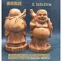 布袋財神--彌勒佛/檜木雕刻