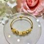 「純金手鍊」黃金版潘朵拉手環 G50