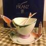 🚚 法藍瓷 Franz 蝶舞 杯盤湯匙組