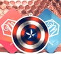 悠遊伴旅 - 漫威英雄系列 - 美國隊長盾牌 造型悠遊卡 一卡通 iCash2.0 禮贈品 交換禮物 生日 情人 聖誕