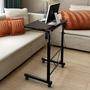 床前桌 電腦桌台式懶人床前床邊桌移動可升降桌多功能床上折疊書桌【全館免運】