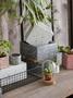 掬涵 水磨石混凝土 花盆花器 幾何形體自由組合 創意設計藝術1入
