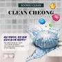 韓國 SOONSU CLEAN 500小時潔廁錠 馬桶清潔除臭錠 45g (1組/10入)