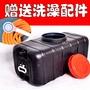 (❤^親下殺滿減^❤)家用太陽能洗澡熱水桶塑料曬水桶夏季儲水洗澡桶簡易黑色水桶神器
