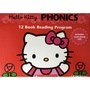 Hello Kitty Phonics Box Set 2(red)(12 Books with CD)(-SHKR-)