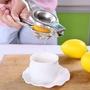 訂單滿400台幣出貨檸檬榨汁器手動榨汁機迷你檸檬夾子壓汁器擠檸檬汁器家用手壓果汁