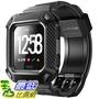 [7美國直購] 錶帶 Fitbit Versa Band, SUPCASE [Unicorn Beetle Pro] Protective Replacement Wristband Case B07DLN2K88