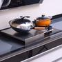 《深48*長35》氣炸鍋的置物架电磁電池爐架子瓦斯爐蓋板多功能架不鏽鋼304