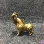 現貨純銅羊擺飾十二生肖羊領頭羊黃銅小件旺財助事業家居風水飾品復古