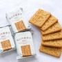 【單包】低GI代餐餅乾 魔芋飽腹全麥餅乾~原味/海苔/香蔥 一包3片~無糖無油 低卡低熱量
