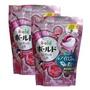 日本P&G洗衣膠球補充包BOLD粉紅花香18顆-2包組