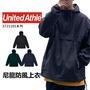 【免運】United Athle 7211《J.Y》 夾克  防風 防潑水 連帽風衣 半拉鍊外套 三色可選