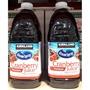 美兒小舖COSTCO好市多代購~KIRKLAND 蔓越莓綜合果汁(2840mlx2瓶)