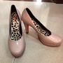 高跟鞋 24CM  裸色 粉色 伴娘鞋 二手