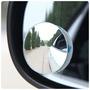 無邊框廣角鏡 2入 可調角度照後鏡 汽車360度盲點鏡 輔助鏡 倒車鏡 反光鏡 凸面後視鏡 無框小圓鏡 意樂舖