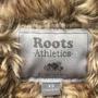 Roots 酒紅經典毛毛外套