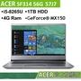 ACER 宏碁 SF314 56G 57J7銀 I5-8265U/MX150 2G/4G/1TB/14吋FHD IPS