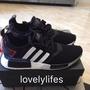 【小飛俠】Adidas NMD R1 Boost 日本限定 白紅 黑紅 黑白 日文 男女鞋 EF2357 EF0753