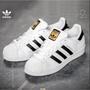 Adidas Superstar 愛迪達三葉草 休閒板鞋 陳奕迅 金標 經典款 貝殼鞋 貝殼頭板鞋 潮流百搭