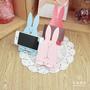 兔兔手機架 兔子名片架 婚禮小物 桌上療癒小物【Bonne Boutique幸福雜貨】